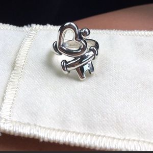 James Avery key to my heart ring size 6